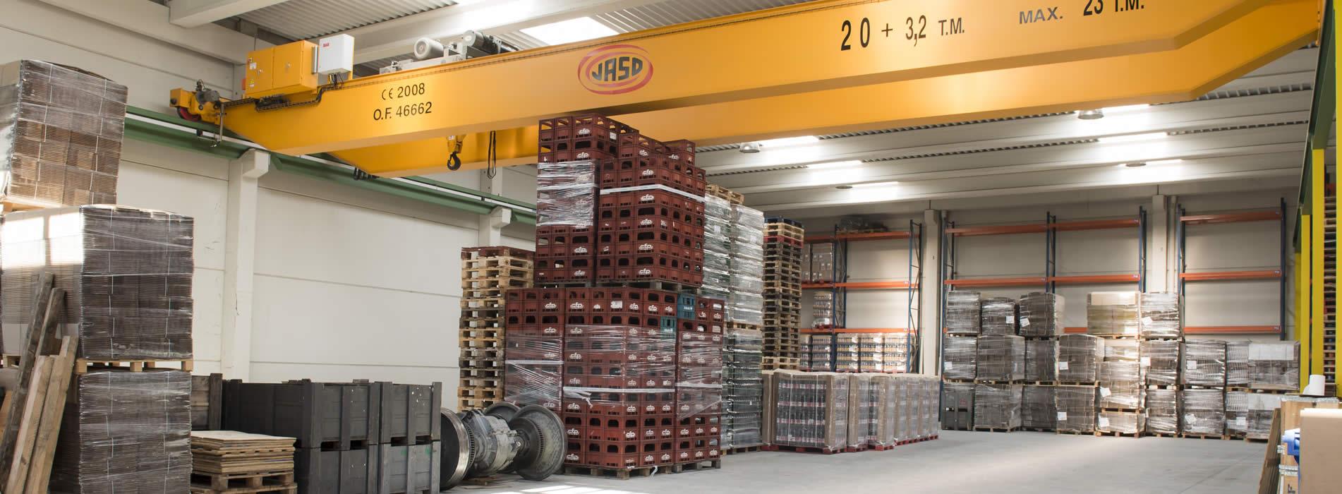 Galparsoro cuenta con amplia experiencia en logística, transporte y almacenaje de todo tipo de mercancías